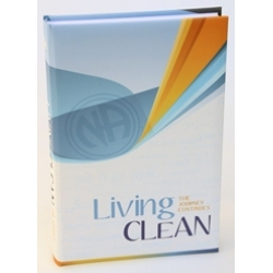 Book, Living Clean: The Journey Continues, Hard Cover