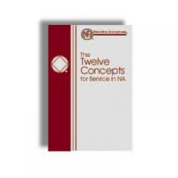 Booklet, Twelve Concepts for NA Service