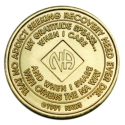 Bronze Medallion 01 Year