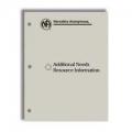 Handbook, Additional Needs Resource Info
