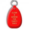 Key Tag, 30 Days, Orange