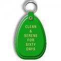 Key Tag, 60 Days, Green