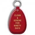 Key Tag, 90 Days, Red