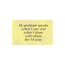 Poster, My Gratitude Speaks